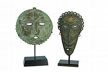 Bamana Forged Iron Masks