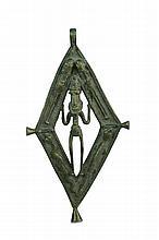 Dogon Bronze Medallion