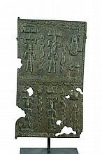 Dogon Bronze Miniature Door