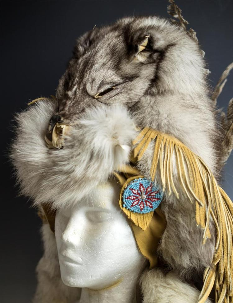 how to make a coyote headdress