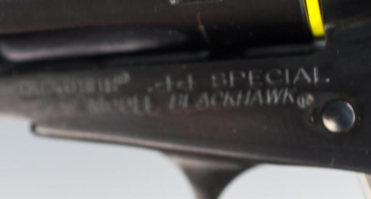 Ruger New Model Flat Top Blackhawk  44 Special Rev