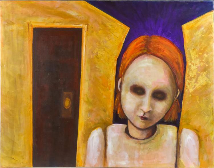 Jennifer Allred (1955-2016) Abstract Scene