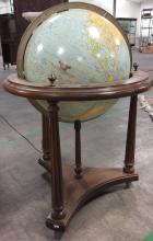 Vintage Replogle Comprehensive Lighted Globe