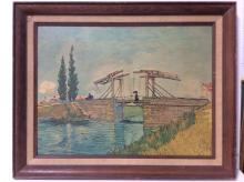 Framed Vincent Van Gogh Decorative Poster