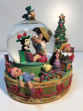 Disney's Pinocchio Musical Snow Globe