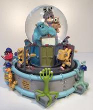 Disney's Monsters Inc. Musical Water Globe