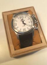 Timberland Quartz Silver 100m Watch