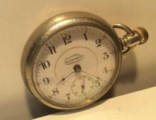 Interstate Chronometer Pocket Watch