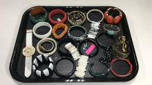 Retro Bracelet Costume Jewelry Lot