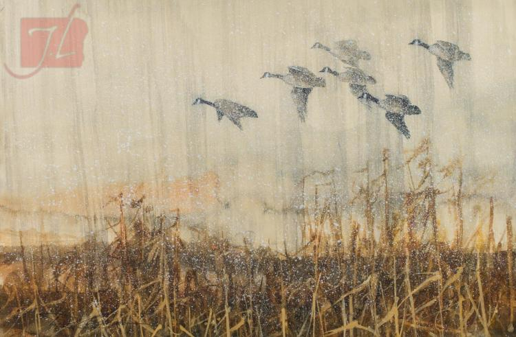 Duck Hunting Boats For Sale >> Rod Crossman Artwork for Sale at Online Auction | Rod ...