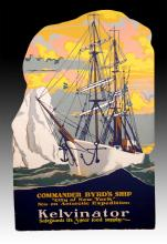 Commander Bryd's Ship Kelvinator Advertising Sign