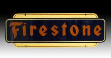 Firestone Tires Two-Sided Metal Sign