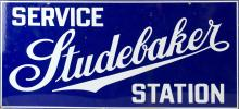 Studebaker Service Station Metal Sign