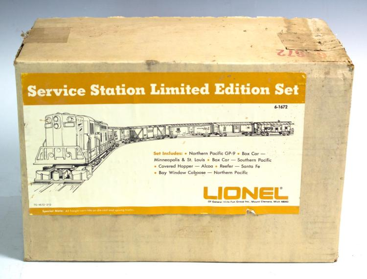 Lionel LE Set 6-1672 Factory Sealed