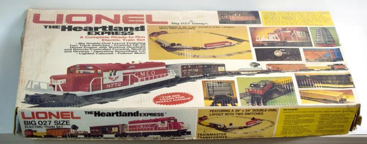 Lionel 1764 Heartland Express Set MIB