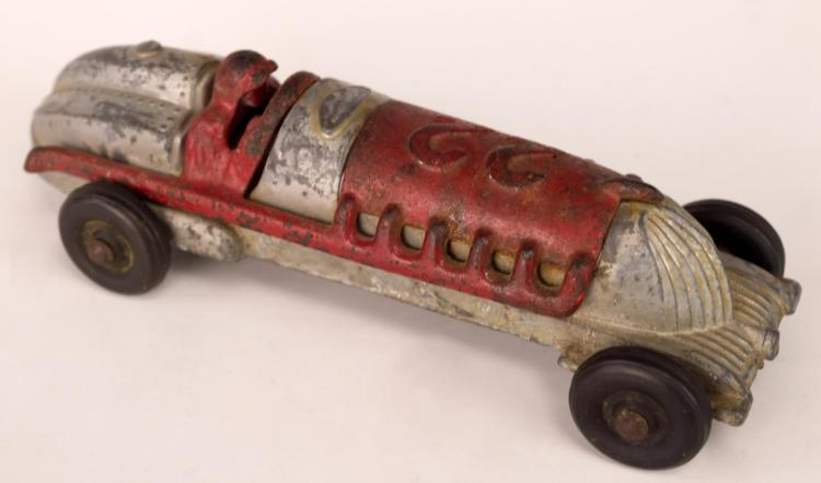 Cast Iron Toy Race Car