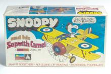 1970 Monogram Snoopy & Sopwith Camel Model Sealed