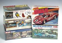 5 Pc. Sealed MPC & Revell Model Car Lot