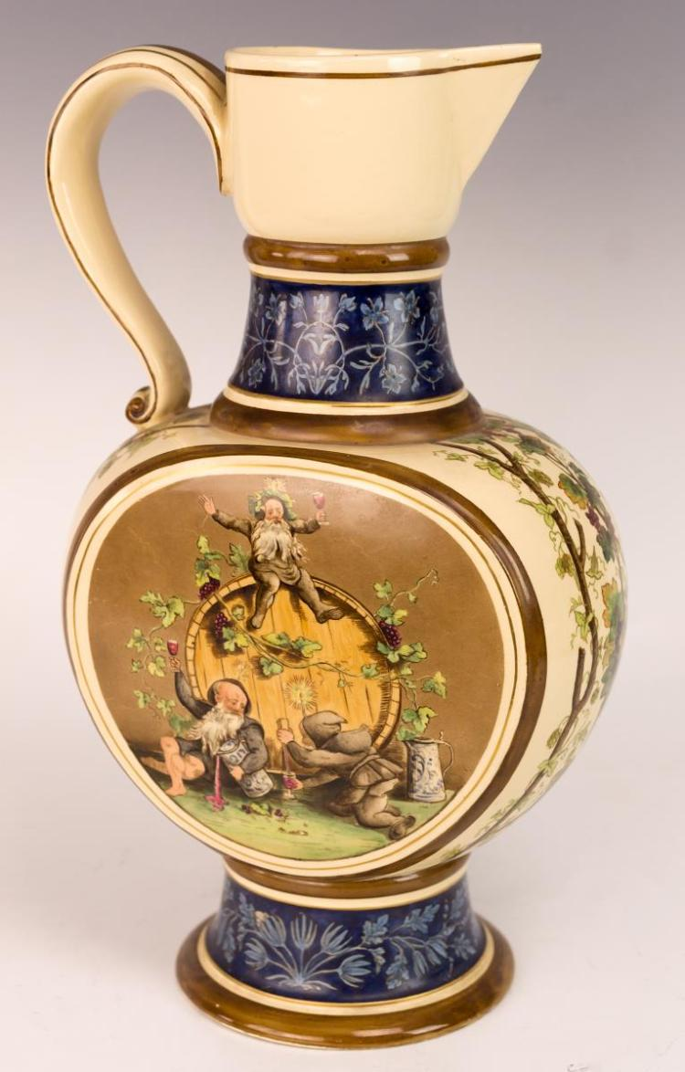 Hofbräuhaus Porcelain Beer Pitcher