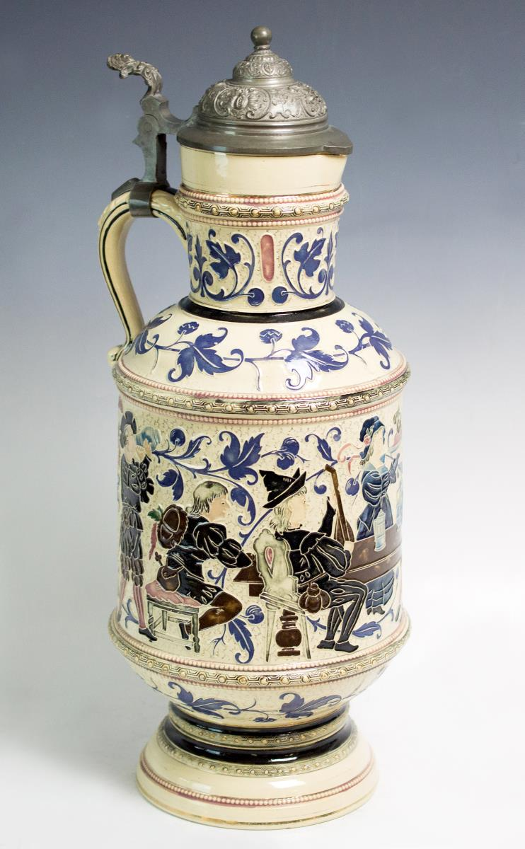 20th Century German Stein, Marked 1176A