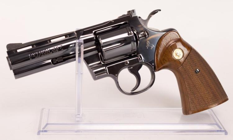 Colt Python .357 Magnum CTG revolver, 4