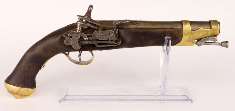 Replica Of A 2nd Model Cavalry Miguelet Pistol