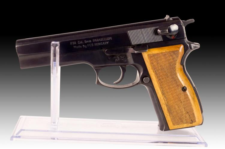 Hungarian 9mm Parabellum Pistol, FEG P9R
