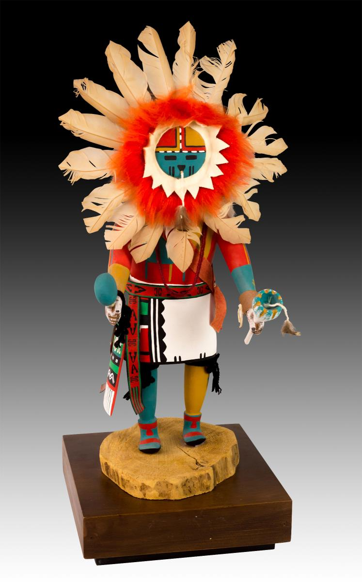 Native American Sun Kachina Doll