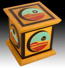 Crest Of The Highest Chiefs In Haida Culture