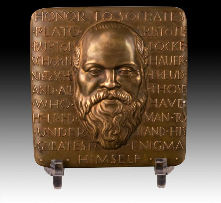 Homage to Socrates Bronze Medal