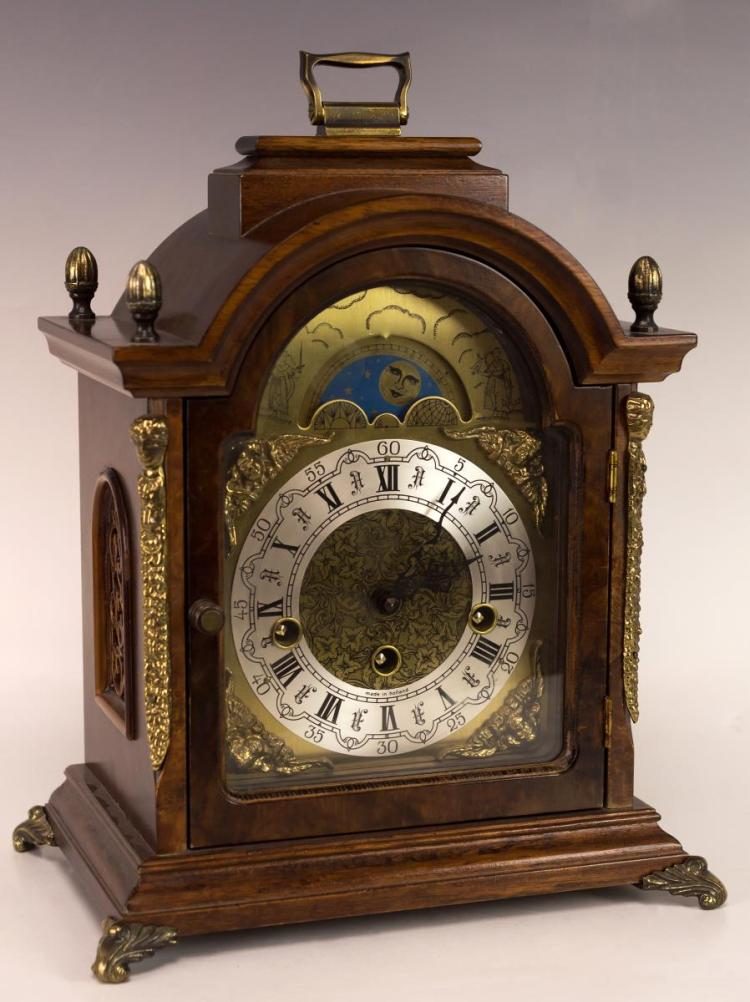Chicago Clock Co Inc Grandfather Desk Clock