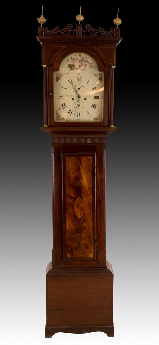 George Brown Airdrie Tall Case Clock