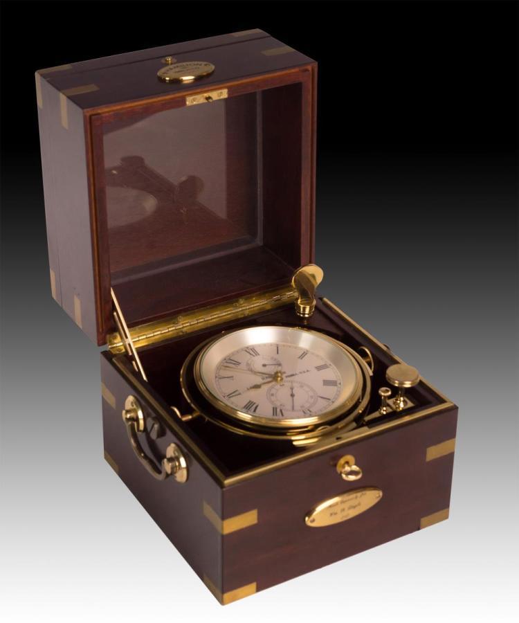 Hamilton Seven-Day Marine Chronometer Style Clock