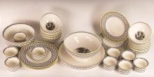 28Pc Villeroy & Boch Audun Porcelain Lot