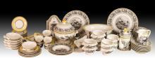 75Pc Villeroy & Boch Audun Ferme Porcelain Lot