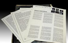 5 Pc. Hasselblad Space Portfolio
