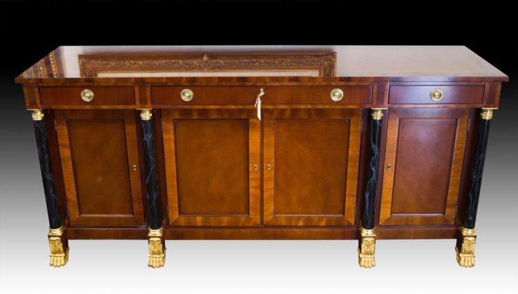 Kindel Neoclassic Sideboard w/ Paw Feet #76-028