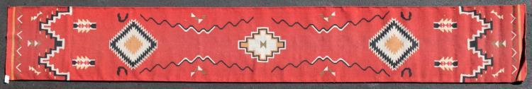 Southwest Runner, Santa Fe Style Wool Rug