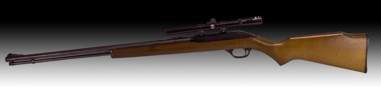 Marlin Model 60 .22lr Rifle With Tasco Scope