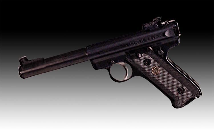 Ruger Mark III Target Pistol, .22 Cal w/ Case