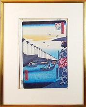 Hiroshige Japanese Woodblock