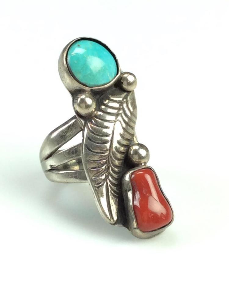 Turquoise Phoenix Ring
