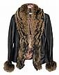 Paolo Santini Leather Fox Coat