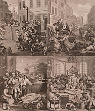 William Hogarth (1697-1764) First Stage Of Cruelty