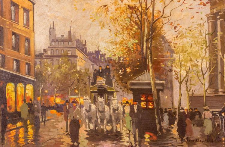Antoine Blanchard (C.1910-1988) Oil Painting