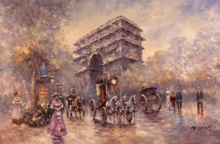 Johnny Gaston (1955-) Triumphal Arch