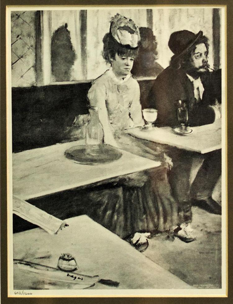 After Edgar Degas (1834-1917)
