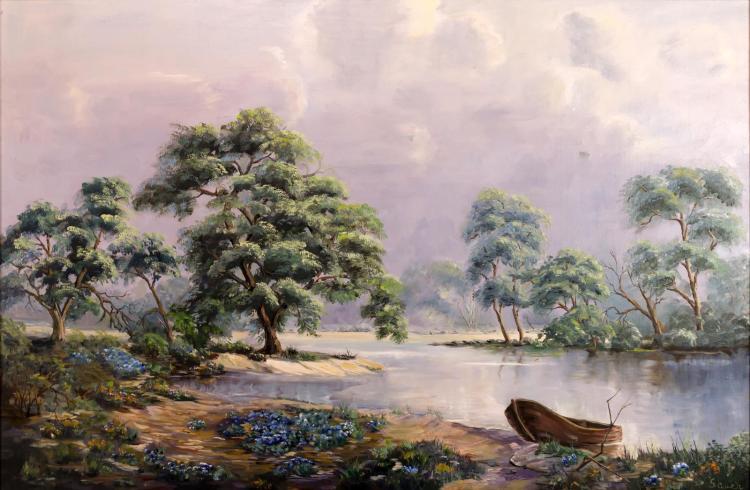 Mardelle Sauer Driscoll (1939-2014) Landscape