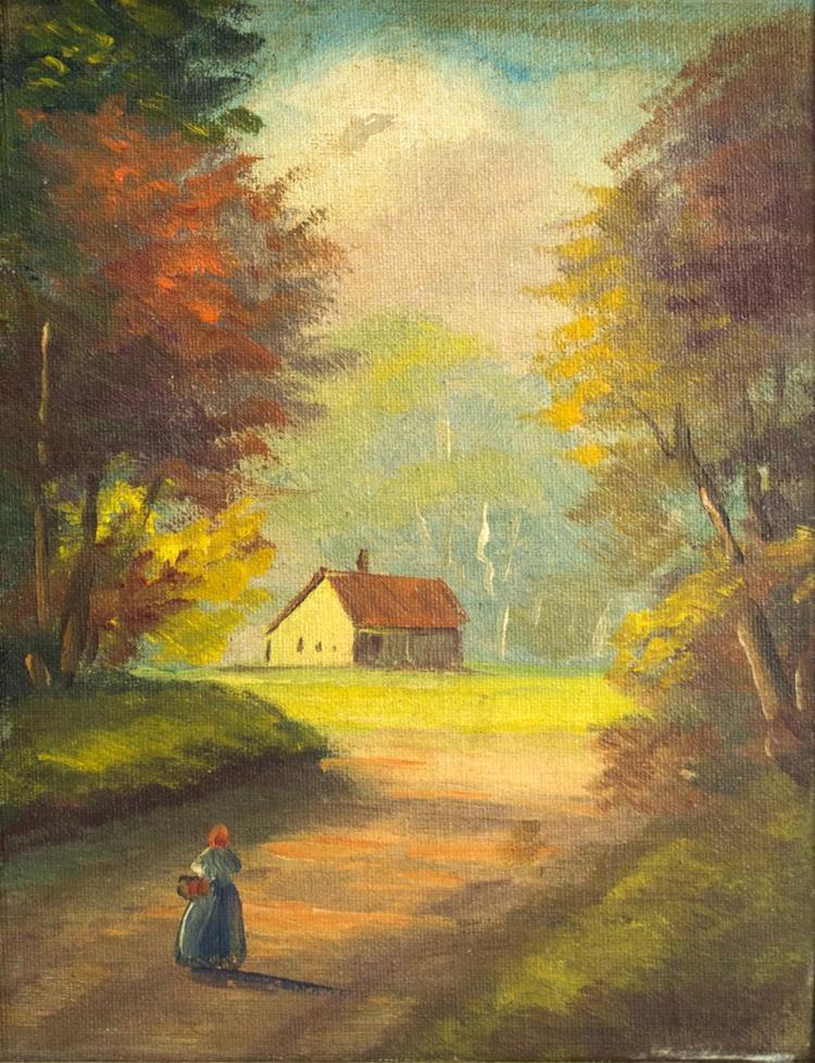 Vivian Schuyler Key (1905-1990) Landscape
