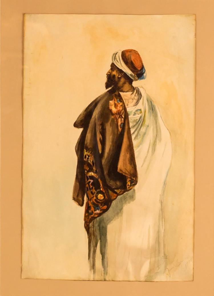 Jessie Spurrier (20th C) Bedouin Nomad